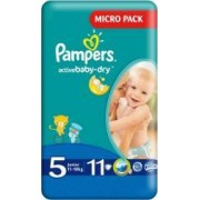 Scutece Pampers Active Baby 5 Junior Small Pack 11 buc