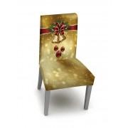 Rosegal Housse de Chaise Elastique pour Noël Une-Pièce Largeur 16 x Longueur 24 pouces