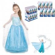 Rochie fetite Elsa 651401 + Bijuterie Cu Pandantiv KE-WD92113