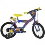 Детско колело ФК Барселона, 16 инча, Dino Bikes, 120116756