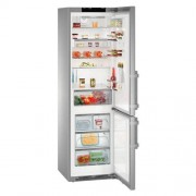 GARANTIE 4 ANI Combina frigorifica Liebherr, clasa A+++-20%, congelator NoFrost, IceMaker cu rezervor de apa, inox CNPes 4868