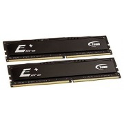 Memorii Team Group Elite Plus Black, DDR4, 2x4GB, 2400 MHz, CL 16