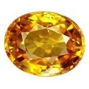 Jaipur Gemstone 12.50 carat yellow sapphire(pukhraj)