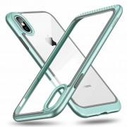 ESR iPhone 8 Plus bumper met transparant achterkant mintgroen