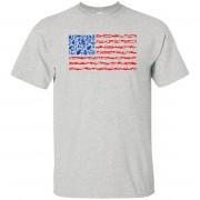 96 - RTP - Caffein Art - Weapon Flag - Weapons Art - Adult Unisex T-Shirt