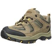 Men s Boomerang II Low Hiking Shoe Brown/Black/Yellow 8 D(M) US