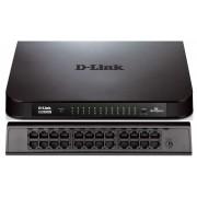 Dlink Unmanaged 24-Port (48Gbps total bandwidth) Gigabit Network Switch 10/100/1000 Mbit/s Full Duplex Auto-Sensing