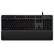 Геймърска механична клавиатура logitech g513 rgb romer-g linear switch, 920-008857