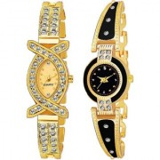 TRUE CHOICE NEW BRANDED LOOK AND SUPER FAST SELIING COMBO WATCH FOR WOMEN AND GIRL WITH 6 MONTH WARRNTY