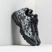 "Nike Air Max 95 Premium ""All Over Logo"" Black/ Black-White"