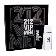 Carolina Herrera 212 VIP Men confezione regalo Eau de Toilette 100 ml + doccia gel 100 ml da uomo