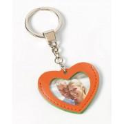 Walther Nyckelring hjärtformad - Orange