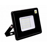 Proiector SMD Slim LED 10W 850lm 6500K lumina rece negru Novelite 42007