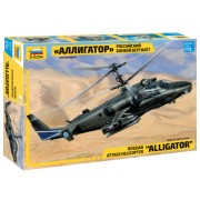 Zvezda Kamov Ka-52 Alligator Combat Helicopter makett 7224