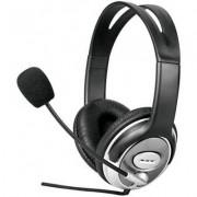 ROLINE 15.99.1302 :: Слушалки Deluxe, Volume Control, черни
