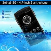 Z6 ZOJI Impermeable Ultra Delgado Teléfono Inteligente 1GB RAM +8GB ROM ENCHUFE BRITÁNICO De Huella Dactilar