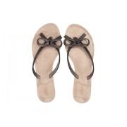 Melissa Shoes Harmonic Chrome II Dark Copper Brown