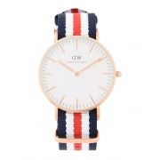 レディース DANIEL WELLINGTON 0502DW CLASSIC CANTERBURY WATCH ROSE GOLD 36MM 腕時計 ホワイト