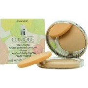 Clinique Stay-Matte Polvos Compactos Invisibles- Stay Buff
