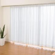 見えにくい遮熱レースカーテン高級仕様100cm2枚組【QVC】40代・50代レディースファッション