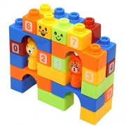 Animal Park Educational Blocks (Set Of 30 Pcs) For Kids, Children