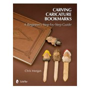 Carving Caricature Bookmarks - A Beginner's Step-by-Step Guide (Morgan Chris)(Paperback) (9780764340833)