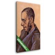Vincent Van Gogh: Blok könyvkereskedő portréja (20x30 cm, Vászonkép )