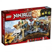 Lego Ninja Go cave Base Ninja-Based X 70596