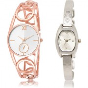 The Shopoholic Silver Combo New Stylist Latest Silver Dial Analog Watch For Girls Girl Watch New