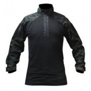 OPS Combat Shirt (Färg: Multicam Black, Storlek: 2XL)