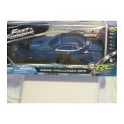 Fast & Furious - Black Dodge Challenger SRT8 -Radio Control Car & Controller 8 L