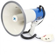 Vonyx MEG065 Megaphone 65W Recording Function Siren USB SD AUX Battery Operation Strap
