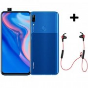 P Smart Z 64GB Blue 4G Smartphone + Bluetooth слушалки Sport Red