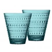 Iittala - Kastehelmi Trinkglas 30 cl, seeblau (2er-Set)