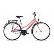 """Schwinn Csepel Landrider női agyváltós városi kerékpár 19"""" Korall"""