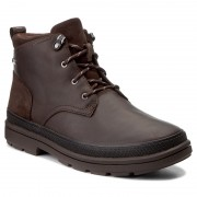 Ботуши CLARKS - Rushwaymid Gtx 261302527 Dark Brown Leather