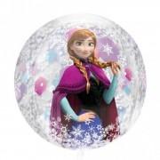 Balon folie orbz sfera Frozen - 38x40cm, Amscan 301870