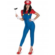 Disfarce Mario Deluxe Mulher - S