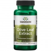 Swanson Olivové List (Olive Leaf) Extract 750 mg 60 kapslí