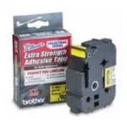 Лента Brother TZ-ES651 Tape Black on Yellow, Strong Adhesive, 24mm, 8 m - Eco - TZES651