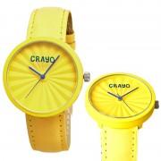 Crayo Cr1503 Pleats Unisex Watch