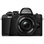 Olympus Om-D E-M10 Mark Ii + 14-42mm F/3.5-5.6 Ed Ez M.Zuiko - Nero - 2 Anni Di Garanzia