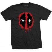 Rock Off Deadpool - Splat Icon T-Shirt
