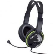 Casti Genius HS-400A, microfon, verde