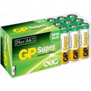 GP Super alkaliczne baterie AA, 1,5 V, 24 szt., 03015AB24