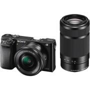 SONY Hybride camera Alpha 6000 + 16-50 mm + 55-210 mm (ILCE6000YB)