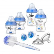 Tommee Tippee Closer to Nature set bočica plavi