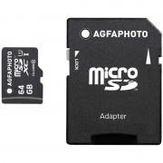 Cartão de Memória MicroSDXC AgfaPhoto 10582 - 64GB