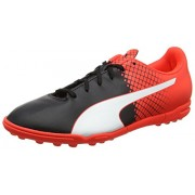 Puma Men's Evospeed 5.5 Tt Puma Black, Puma White and Red Blast Football Boots - 8 UK/India (42 EU)
