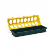 Beeztees Plastic feeder for chicks 3 - yellow/green - Size: 3